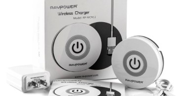 RAVPower Orbit Qi-Enabled Wireless Charger