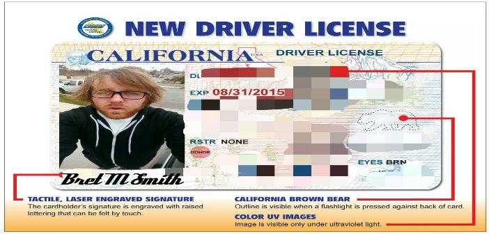 california driver license: selfies required to renew