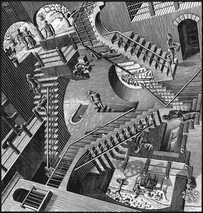MC Escher Relativity