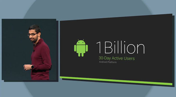 Google IO 2014 Android Stats