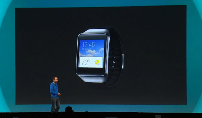 Google IO 2014 Android Wear