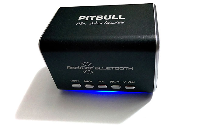 RockDoc Bluetooth Front