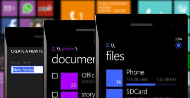 Windows Phone filemanager featured