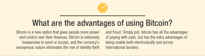 Advantages of Bitcoin