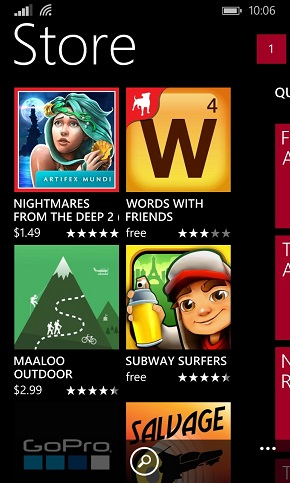 From Android To Windows Phone Store