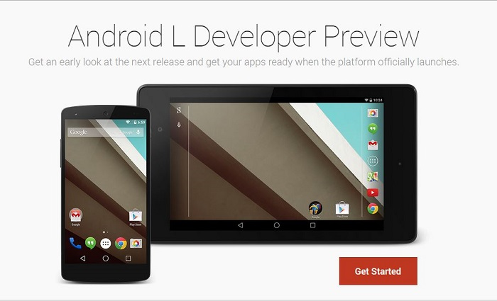Android L Beta Software