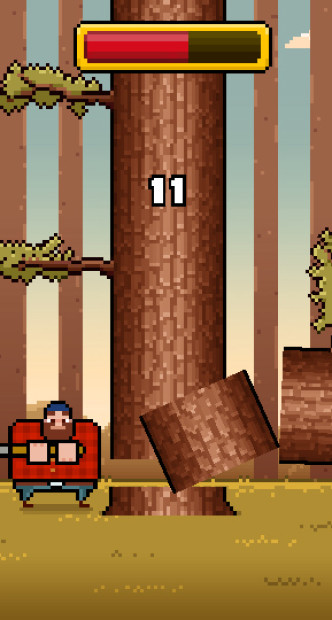 Timberman By Digital Melody Gameplay 2