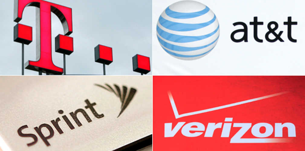 The Four Big Carriers Unlimited Data