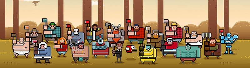 Timberman By Digital Melody Characters