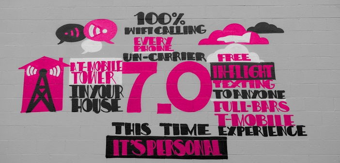 Un-carrier 7 painted wall