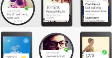 Android Wear Screen Shots