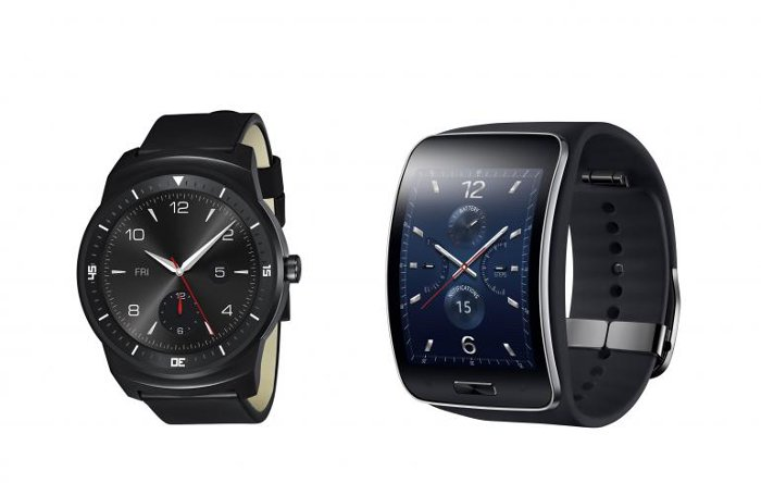 Android Wear LG G Watch R and Gear S