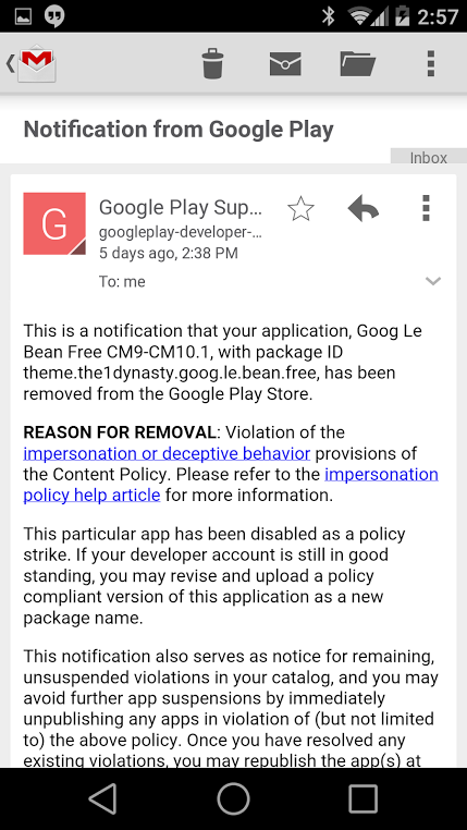 how to change google play email account