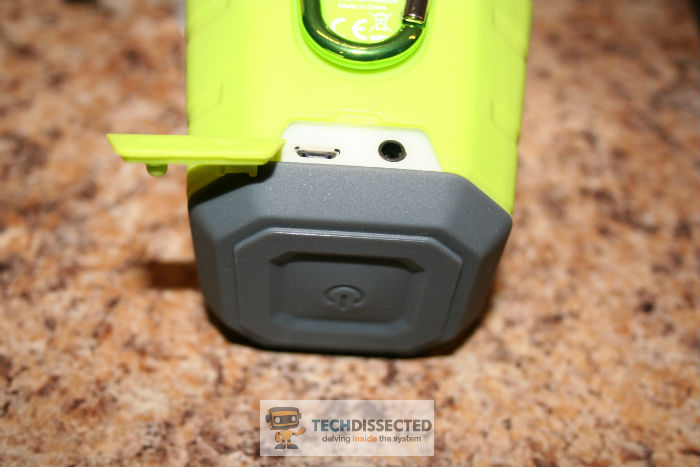 Lumsing MM526 power button