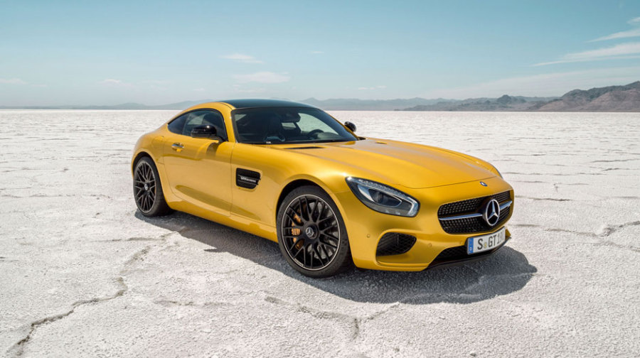 AMG GT S Promo