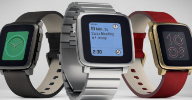 Pebble Time Banner