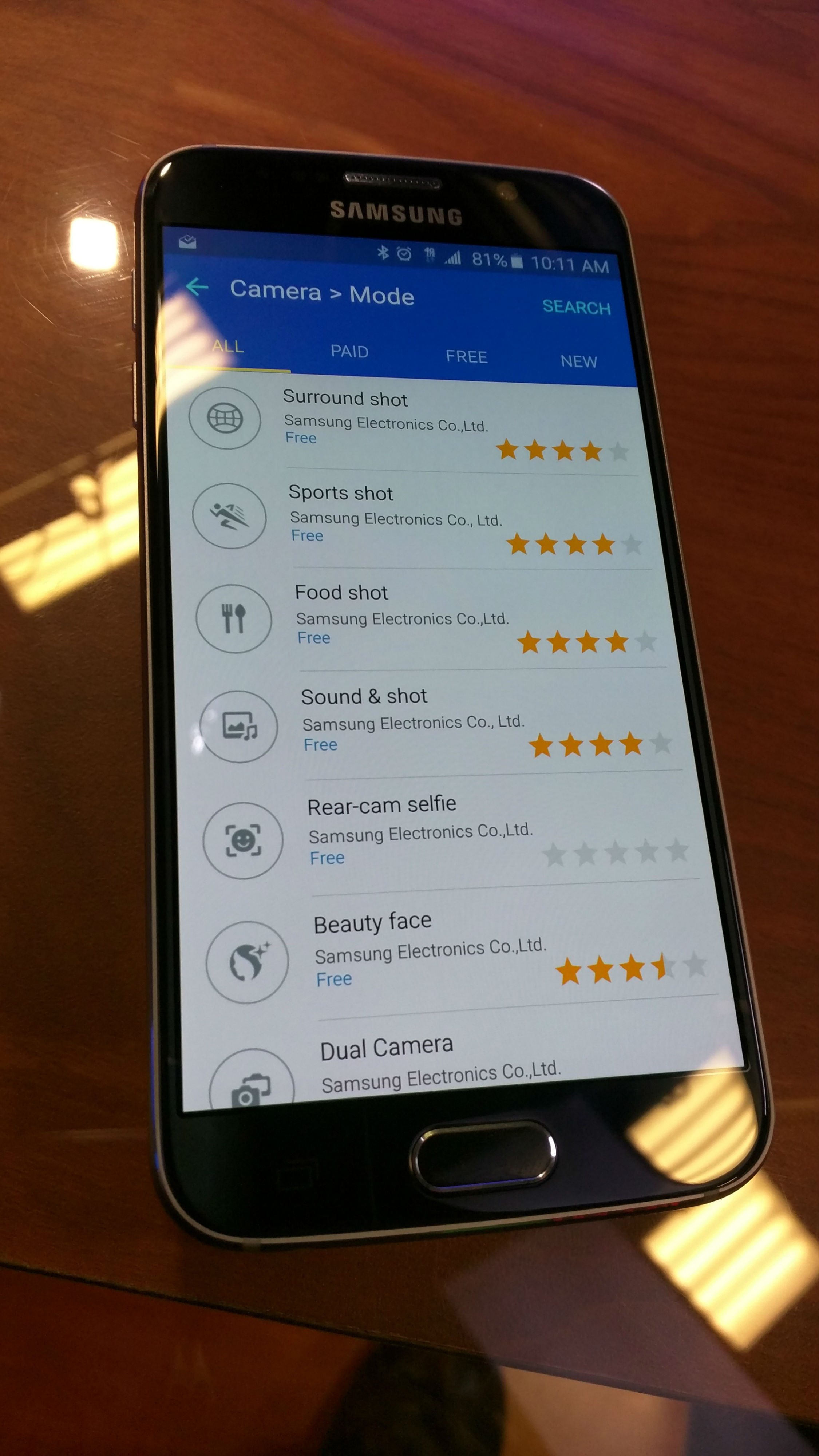 how to turn on voice guidance on samsung s6