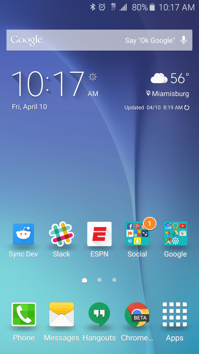 Galaxy S6 Launcher - Reduced
