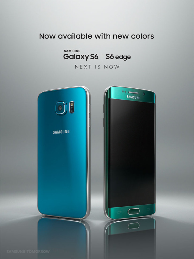 Blue Topaz S6 Emerlad Green S6 Edge