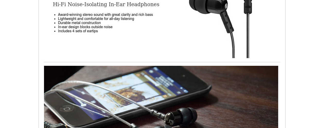 MEElectronics M9 Classic Earbuds Featured Image