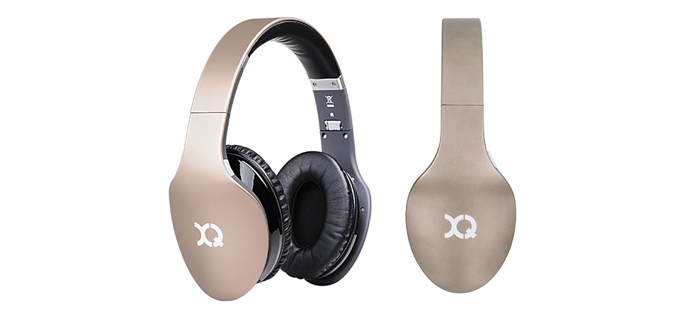 xqisit lz380 bluetooth stereo headphone review. Black Bedroom Furniture Sets. Home Design Ideas