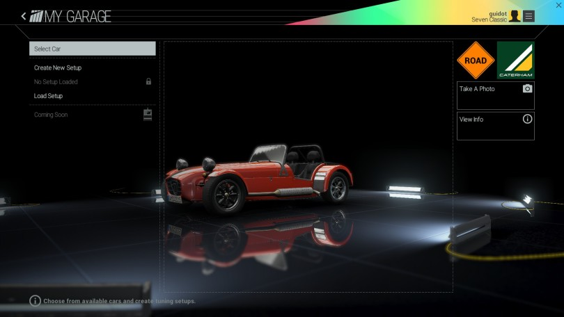 Project Cars Home