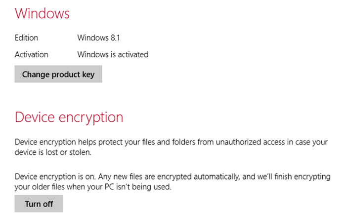 Windows Encryption
