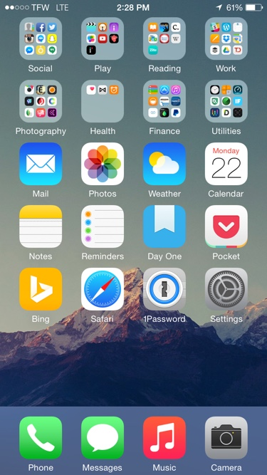 Iphone Home Screen Layout Ideas 2017