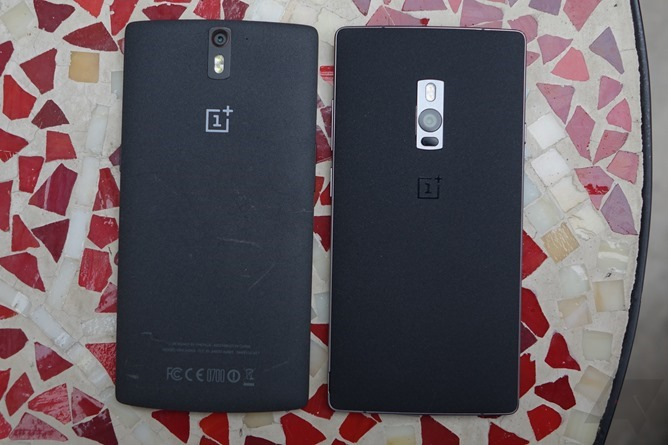 OnePlus 2 and One