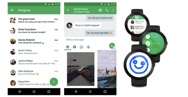 Hangouts Android Update