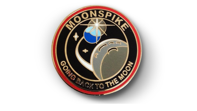 Moonspike Lapel Pin