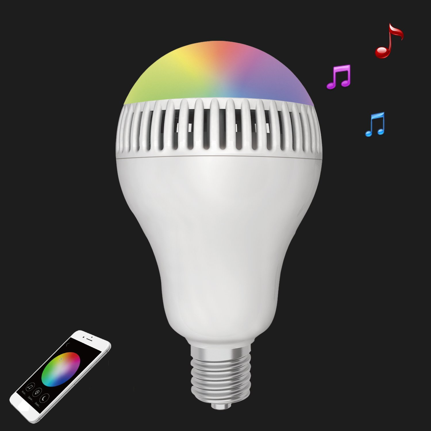 Review 1byone Bluetooth Smart Led Bulb W Speaker Techdissected