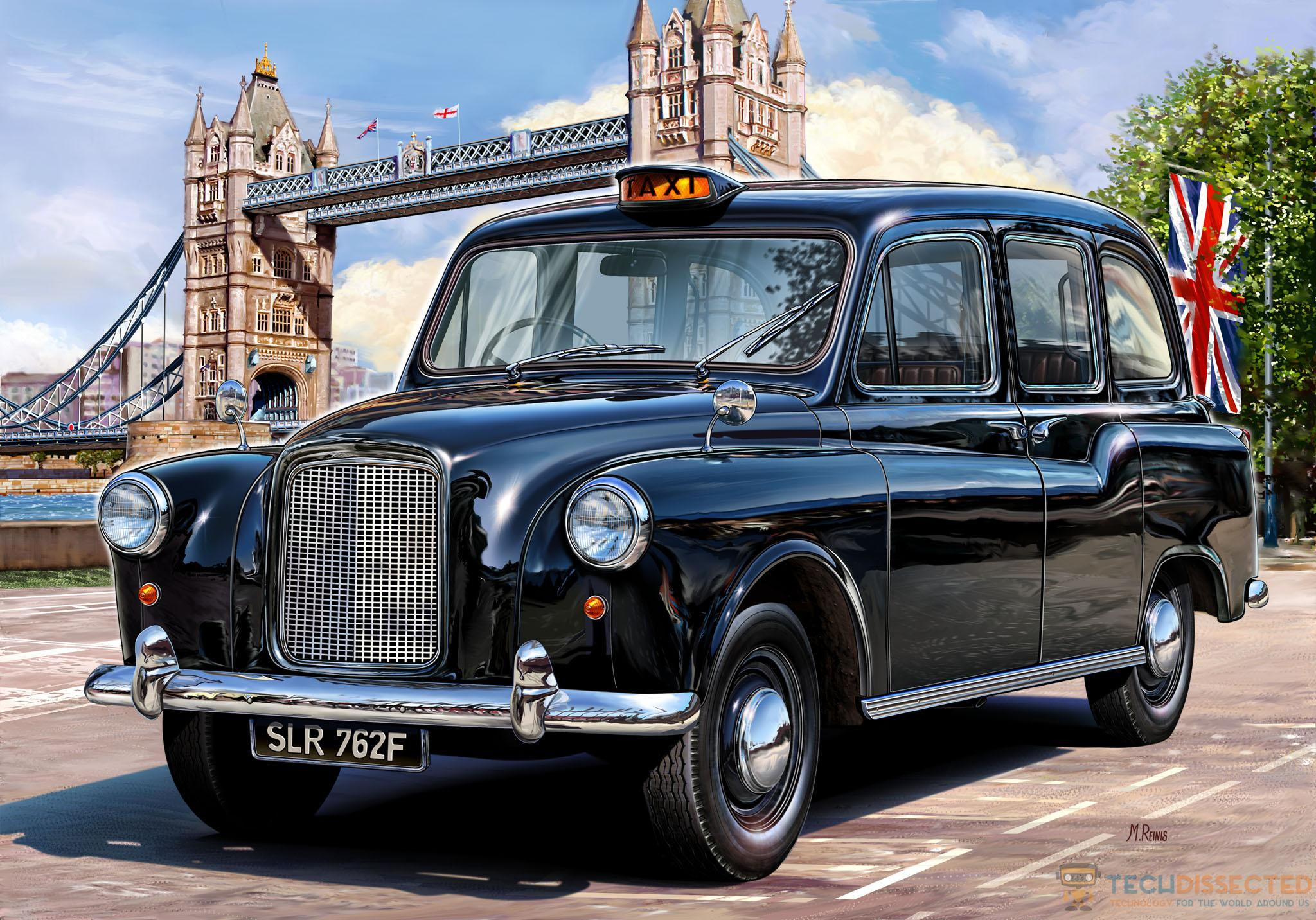 How London Is Leading The Way In High Tech Taxi S And