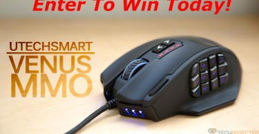 UtechSmart Venus Gaming Mouse Featured Image Contest