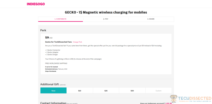 Gecko Wireless Charger Image 4