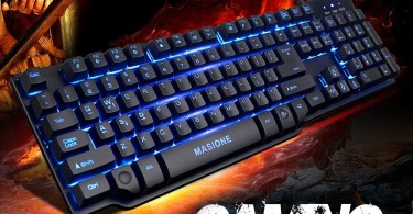 Masione Gaming Keyboard Image 1