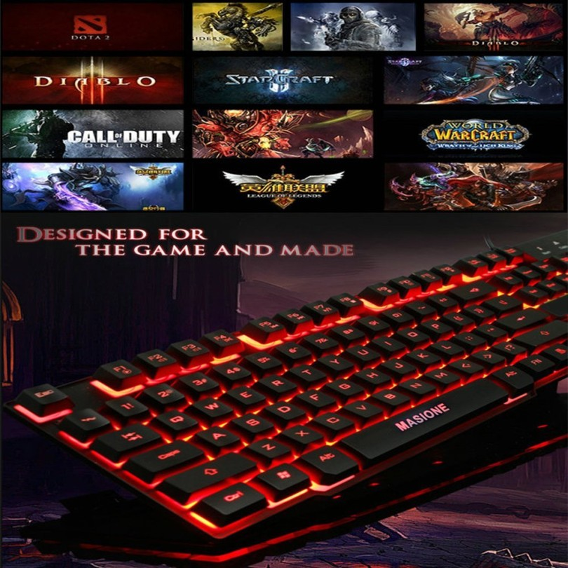 Masione Gaming Keyboard Image 3