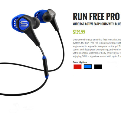 review soul run free pro wireless bluetooth earbuds techdissected. Black Bedroom Furniture Sets. Home Design Ideas
