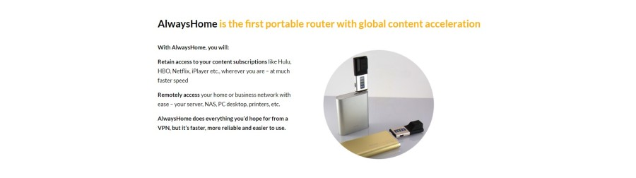 AlwaysHome Portable Router Image 1