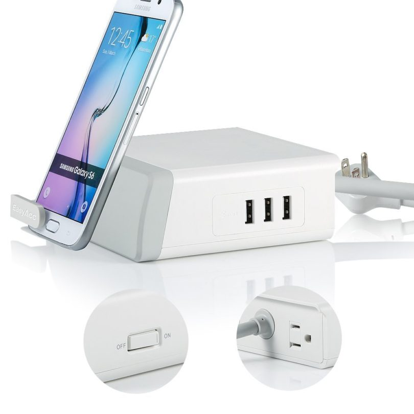 EasyACC 3-Port USB Charger Image 1