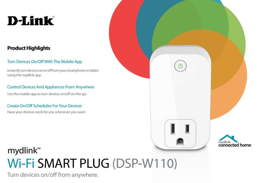 review d link wi fi smart plug techdissected. Black Bedroom Furniture Sets. Home Design Ideas