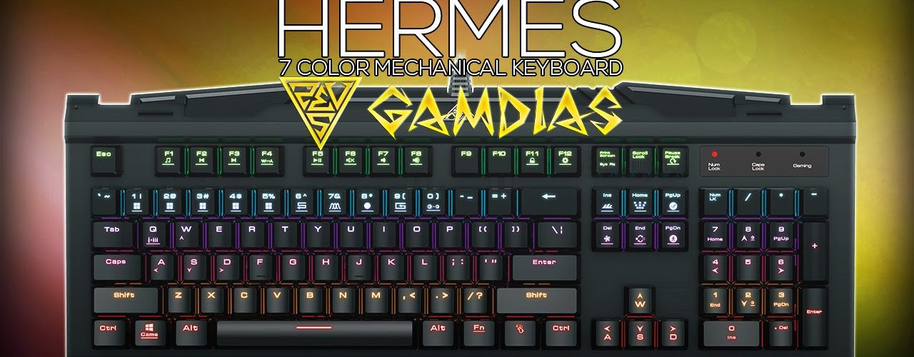 Gamdias Hermes Keyboard Featured Image