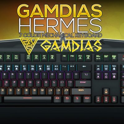 Gamdias Hermes 7 Color Keyboard