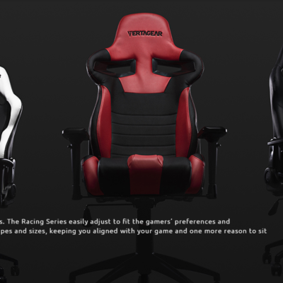 Vertagear SL 2000 Racing Series Gaming Chair