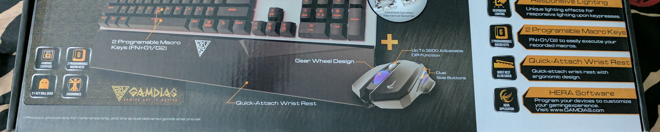 Review: Gamdias Hermes E1 gaming keyboard and mouse combo