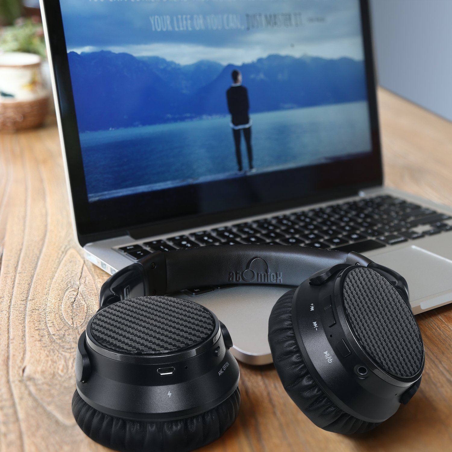 IdeaUSA AtomicX V201 Noise Cancelling Wireless Headphones