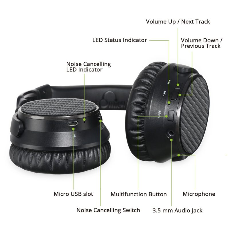 IdeaUSA AtomicX V201 Headphones Image 4