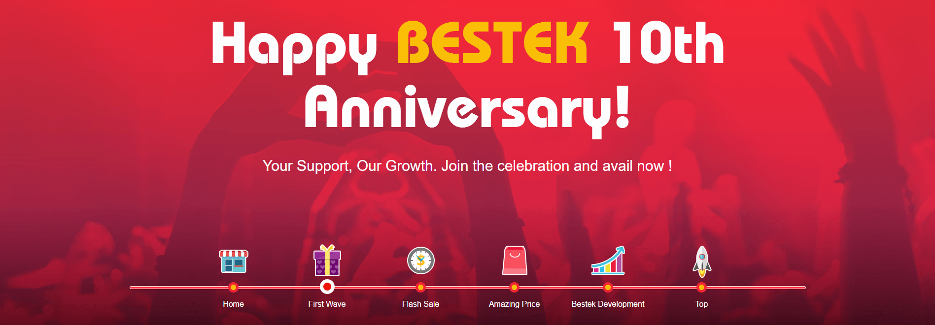 Bestek 10th Anniversary Sale Image 1