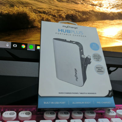 MyCharge HubPlus Portable Charger
