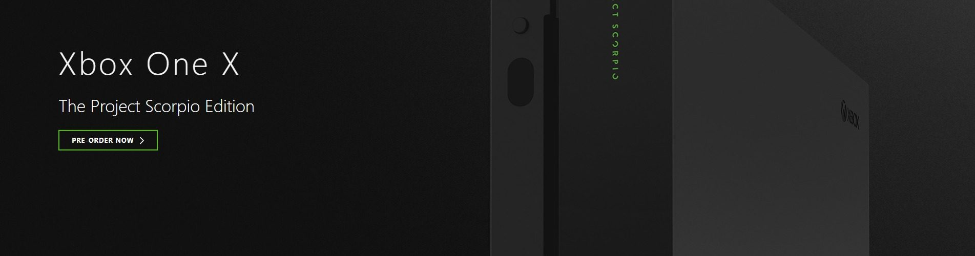 XBox One X Project Scorpio Image 6